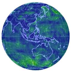 全球天气可视化预测