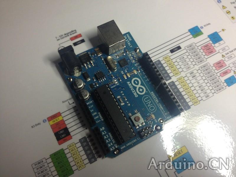 Arduino芯片引脚示意图