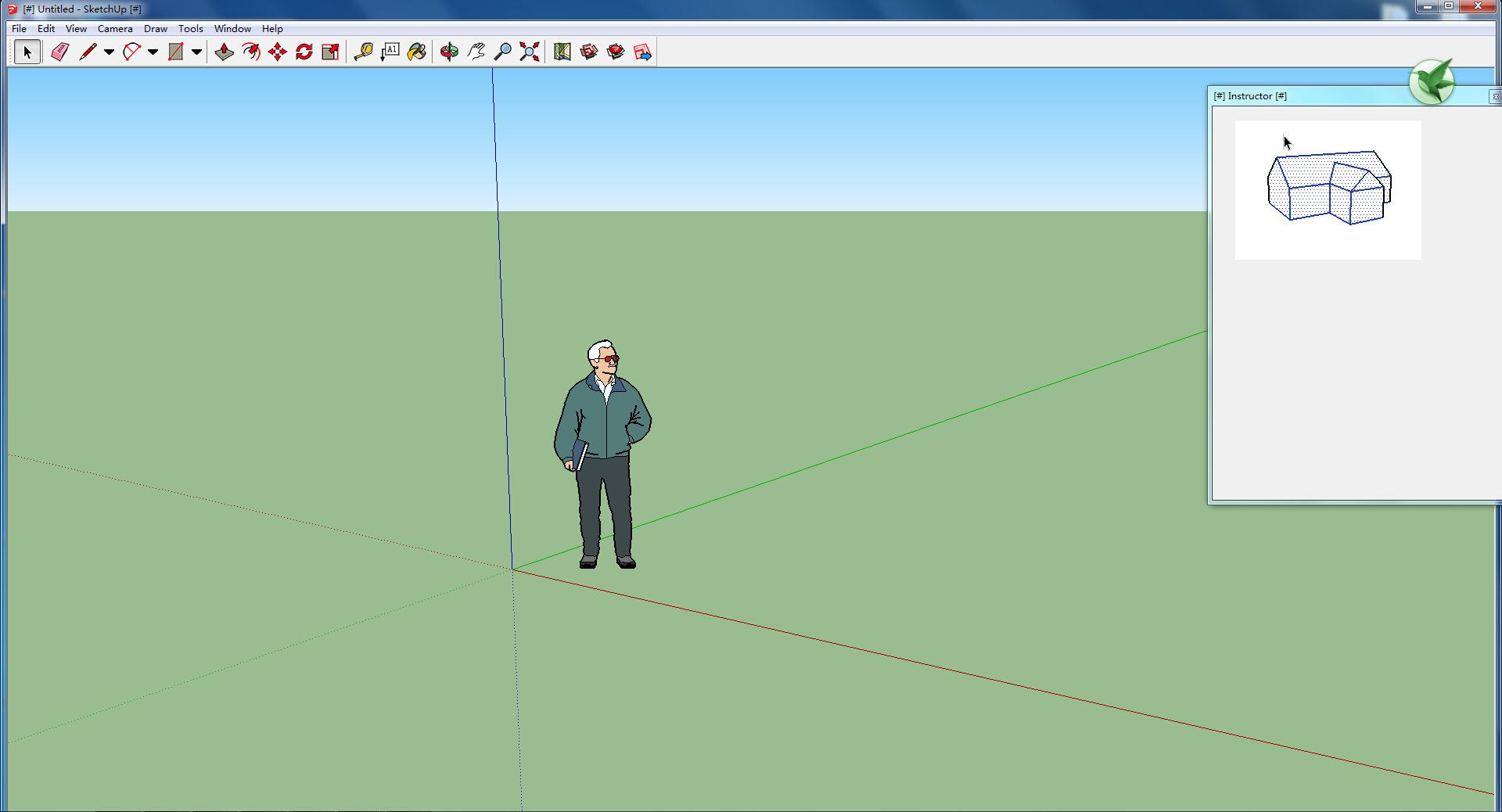 SketchUp15.4 3D模型软件