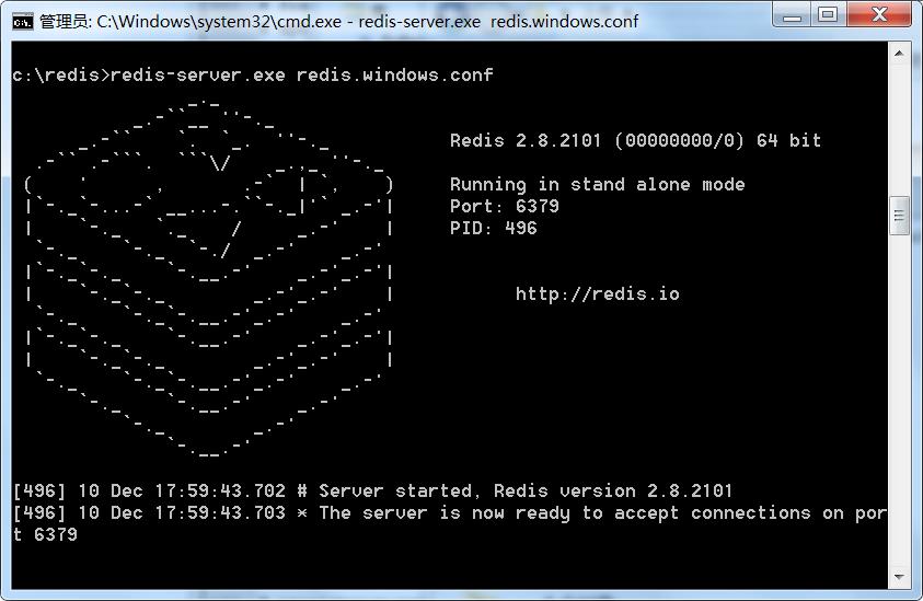 window下安装redis 已经初次运行错误解决 附安装步骤