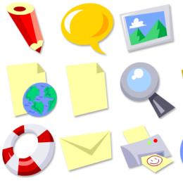 在线服务图标 (PNG) 透明