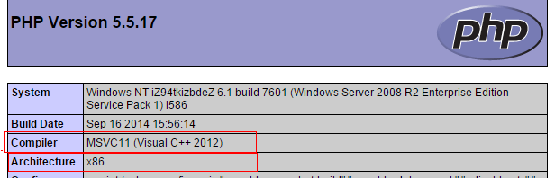 window下安装phpredis扩展图文详细教程 正确选择扩展dll