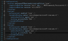 C#调用其他目录dll 配置文件操作