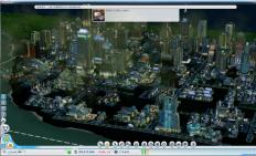 模拟城市5-未来之城 非未来科技城传统电子生成城市
