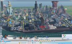 模拟城市5-未来之城 一夜间城市变成废墟