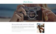 摄影流工作室响应式网页模板