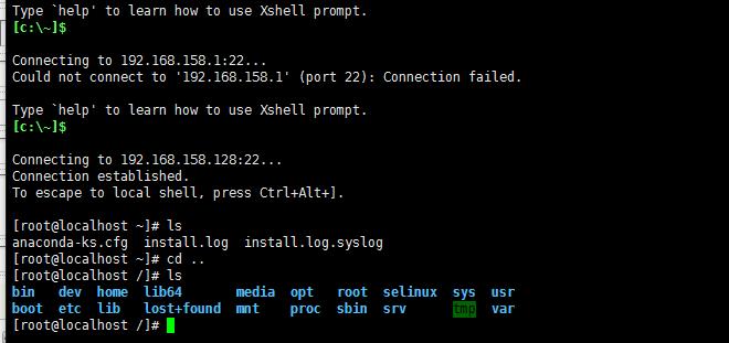 linux centos 无法连接ssh