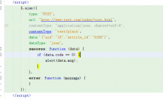 php 获取发送的json(原始POST数据) $.ajax模拟发送