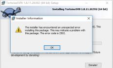 window10下安装msi文件出错 遇到2502和2503错误 the installer has encountered 2503