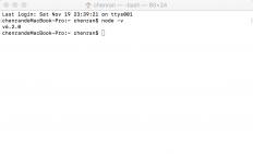 Mac下nodejs的安装+netbeans配置
