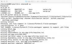 Mac OS root用户