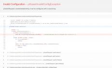 yii2 基础安装出现的错误解决方法 cookieValidationKey must be configured with a secret key