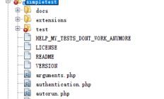 PHP SimpleTest 单元测试的 api post get简单使用
