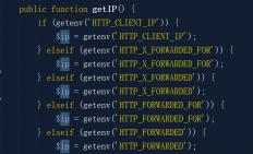 PHP下服务器做了反向代理要拿到用户的真实IP方法