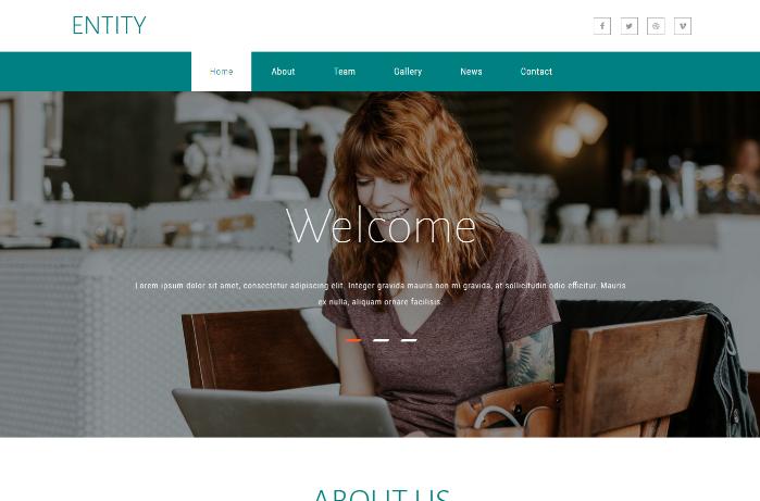 实体营销计划响应式网页模板
