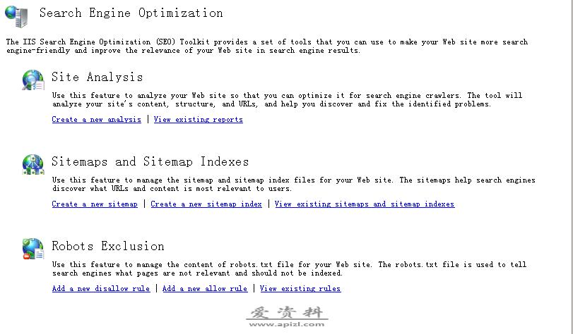 IIS 搜索引擎优化 (SEO) 工具包 1.0
