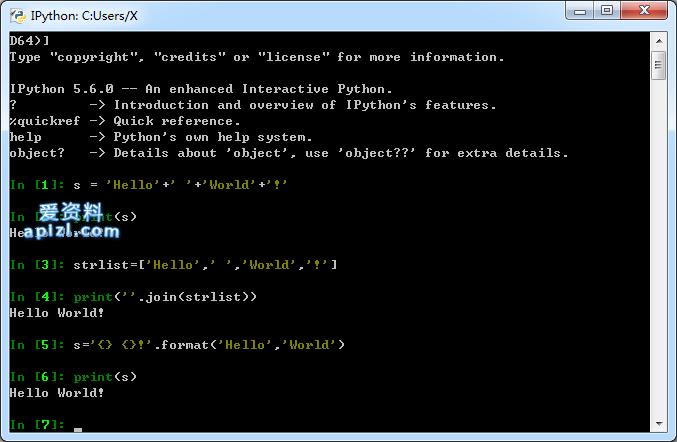 Python 中字符串拼接的 N 种方法