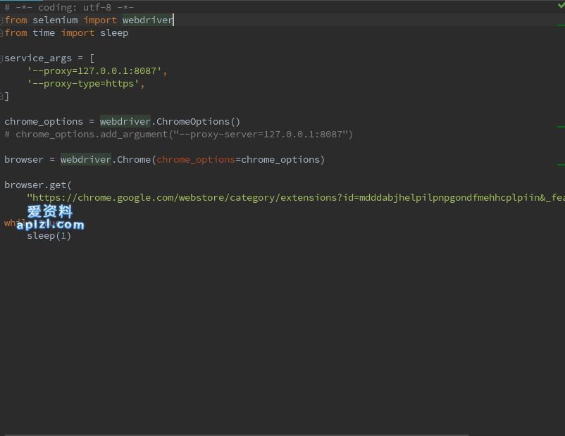 Python Selenium Webdriver代理设置教程