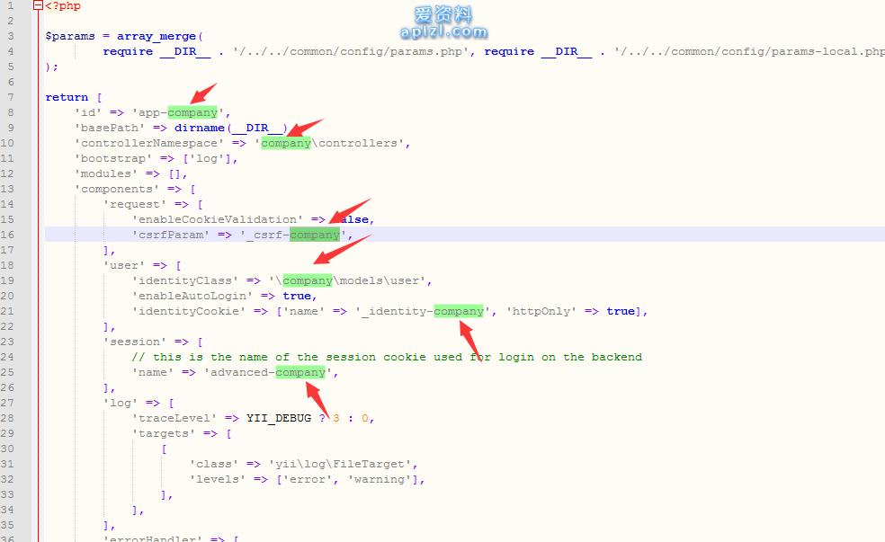 关于Yii2高级版多后台开发实例说明