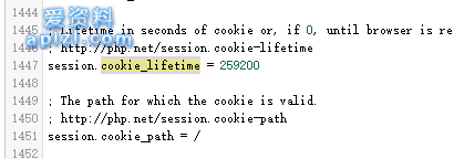 php中的php.ini设置session超时