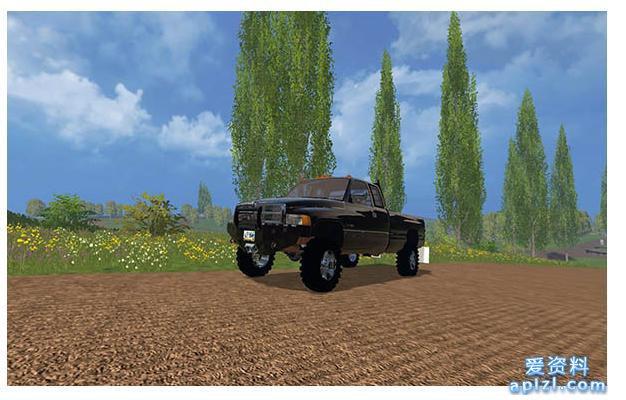 模拟农场17 MOD 汽车 DODGE 2500 V1.0