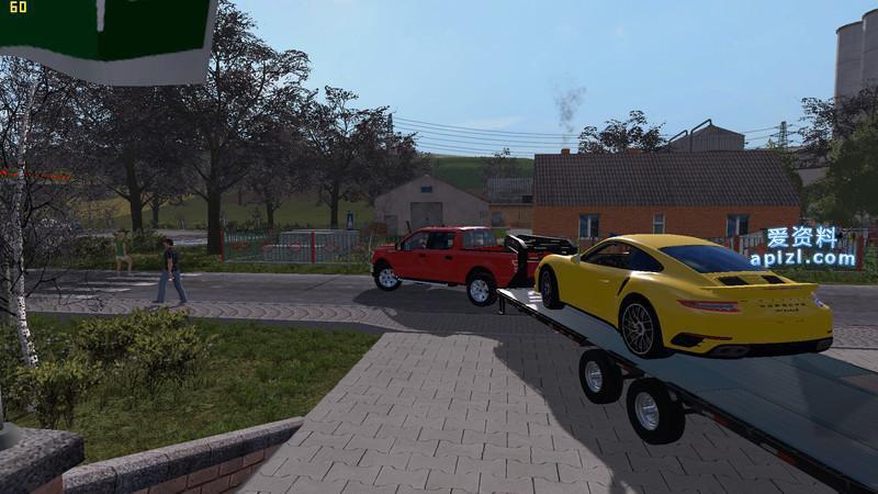模拟农场17 MOD 汽车 保时捷 911