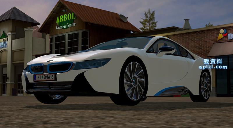 模拟农场17 MOD 汽车 宝马 I8