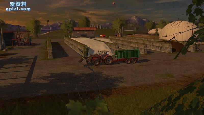 模拟农场17 MOD 地图 巨人岛地图